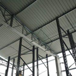 6 - VISTA INTERNA DA CONSTRUÇÃO DE GALPÃO