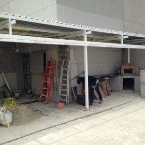 1 - fachada da estrutura