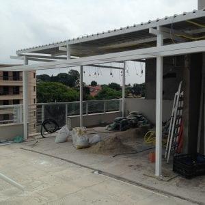 3 - Vista 2 da cobertura duplex