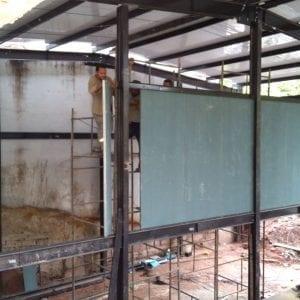 3 - divisoria em painel wall