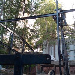 5 - equipe de instalação estrutural