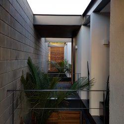 9 - entrada de iluminação natural em teto plano