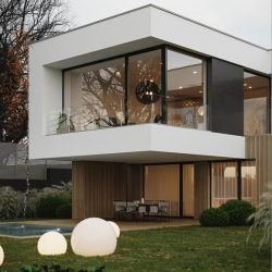 Casa alto padrão minimalista