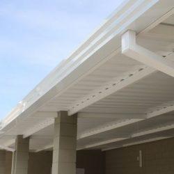 Cobertura com telha metálicas