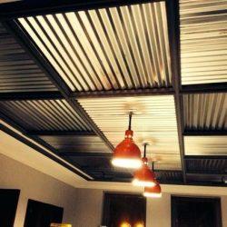 Estrutura para telhado metálico