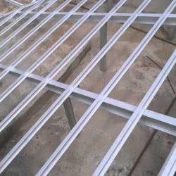 Estrutura telhado galvanizado