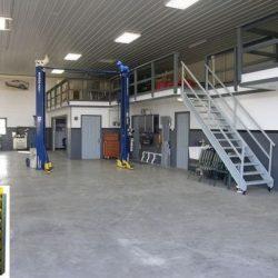 Mezanino metálico oficina