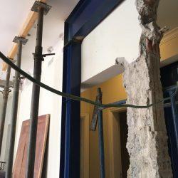 3 - reforço metálico para retirada de pilares