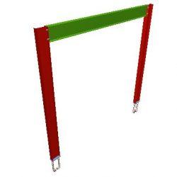 5 - PERSPECTIVA de reforço estrutural para retirada de pilares