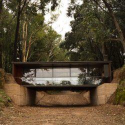 Casa estilo de ponte estrutura metálica