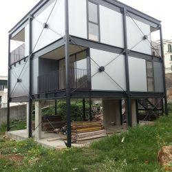 casa construção metalica