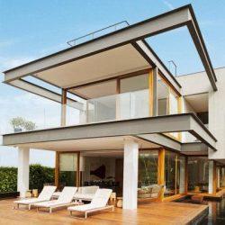 casa estrutura de aço