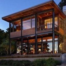 casa sustentavel metalica