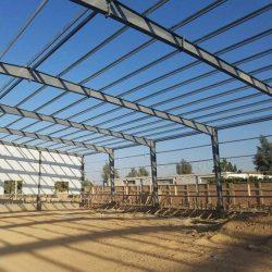 estrutura industrializada aço