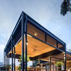 estrutura residencial aço