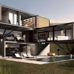 estruturas metálicas residencial