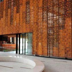 fachada comercial aço