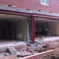 reforço estrutural aço casa