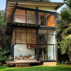 residencia estrutura metalica aparente