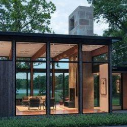 residencia metalica arquitetonica