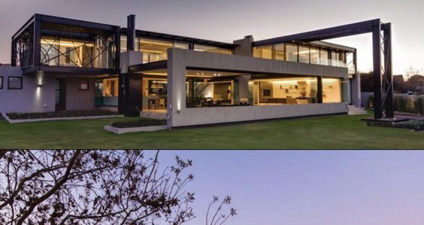 projetos de residencias em estrutura metálica